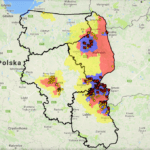 strefa asf mapa 2017